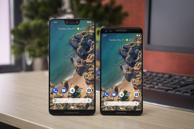 Google Pixel 3 & 3XL Front