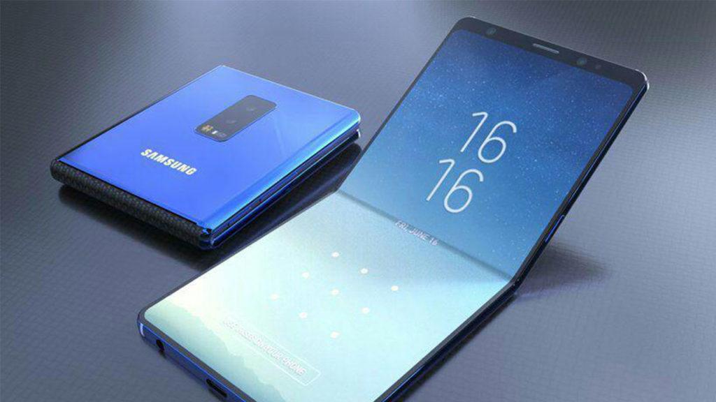 Samsung-Foldable-phone-fold