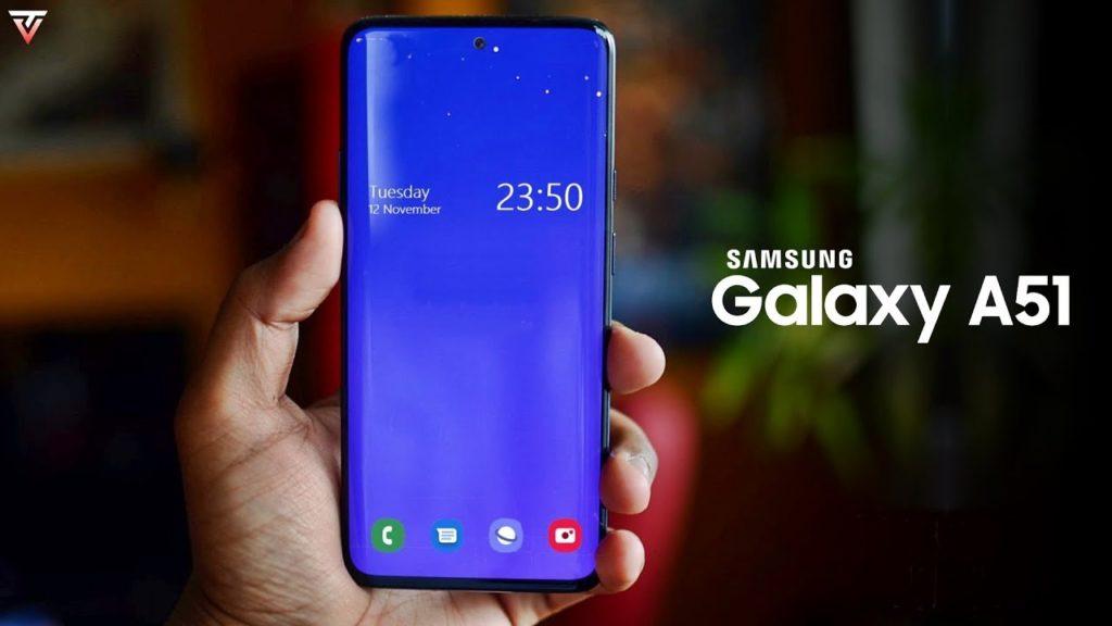 Sasmung-Galaxy-A51-Front